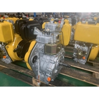 Cheap 5KW 86x70mm 3A Air Cooled Single Cylinder Diesel Engine for sale