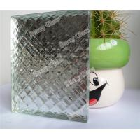 Cheap V Grooving Glass for decoration for sale