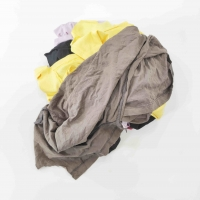 Cheap Dark Color 55*35cm 50kg/Bale Used Clothing Rags for sale