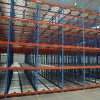 Cheap Roller Conveyor Stacking Pallet Storage Racks / Steel Material Pallet Racking System for sale