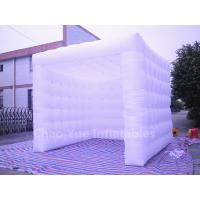 Cheap White Oxford Cloth Inflatable Cube Tent for sale for sale