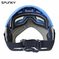 Cheap Comfortable Anti Fog Paintball Face Mask With Elastic Adjustable Goggle Strap for sale