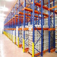 Cheap Industrial Warehouse Drive In Racking System High Density Q235 Steel Material for sale