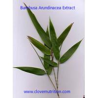 Bamboo Leaf Extract Yellow Brown Fine Powder with ISO factory Manufactures