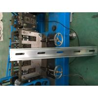 Cheap Hydraulic Cutter Perforated Shutter Door Roll Forming Machine With Automatic Punching System for sale