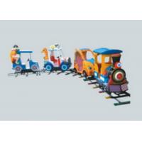 Cheap Amusement Park Train Rides , Battery Powered Ride On Train With Track For Toddlers for sale