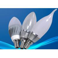 Cheap RoHS Dimmable 3W LED Candle Bulbs , Commercial Lighting Fixture 3000K -6000K for sale