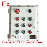 Cheap Chemical Industry Explosion Proof Distribution Box , Low Voltage Flame Proof Panel for sale