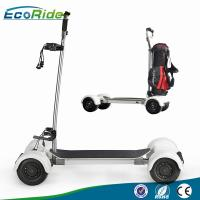 Cheap EcoRider 1000w 4 Wheel Skateboard Golf Electric Scooter Long Board CE Certificated for sale