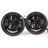 Cheap 1350 LM / 1770 LM 5 Inch Motorcycle Headlight High And Low Beam Headlights for sale