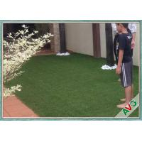 Quality V Shaped Green Outdoor Artificial Grass Comfortable Courtyard Artificial Grass Turf wholesale