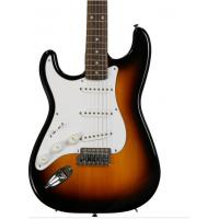 Cheap Urethane Fender Squier Left Handed Electric Guitar Affinity Stratocaster Sunburst for sale