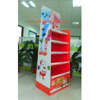 Cheap Chocolate Cardboard Retail Displays supermarket point of sale display for sale