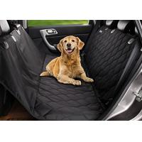 Cheap Comfortable Pet Hammock Car Seat Cover , Cat Dog Seat Covers For Cars for sale