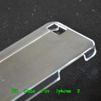 Apple Iphone 5 5G 5th Crystal Clear Hard Case Back Protected Cover -Paypal