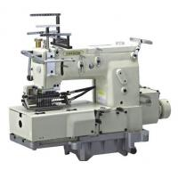 Cheap 12 Needle Flat-bed Double Chain Stitch Sewing Machine with Shirring FX1412PSSM for sale