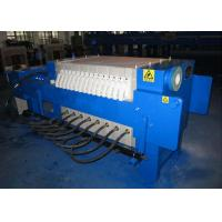 China Automatic Chamber Filter Press Plate And Frame Filter Press 800mm 1.6Mpa on sale