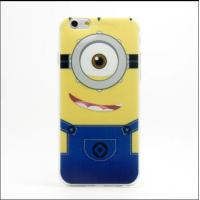 Cheap Fashion Cute Despicable Me Pattern TPU Case Mobile Phone Soft Protective Cover for sale