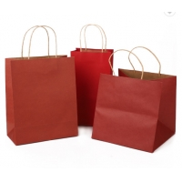 Cheap Biodegradable 16x6x12 Inches Foldable Paper Bag for sale
