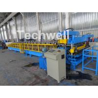 Tile Sheets & Roof Cladding Sheets Double Layer Roll Forming Machine With Hydraulic Cutting Manufactures