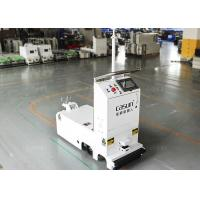 Cheap Traction Unidirectional Tugger AGV Towing Vehicle With Laser Obstacle Sensor for sale