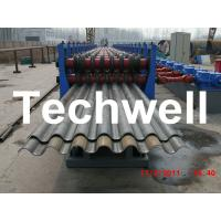 50Hz, 3 Phase Silo Steel Corrugated Sheet Roll Forming Machine With 18 Stations Manufactures