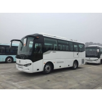 Cheap 6 Tire Brand New Zhongtong Bus Front Engine 35 Seats LCK6858 for sale