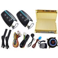 Smart Car Alarm System With RFID Emergency Unlock And Push Button Start Stop Engine