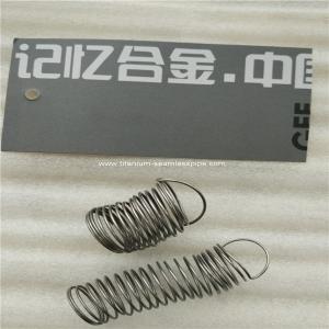 Cheap nitinol wire spring ,NiTi SMA Springs 2pcs samples for sale