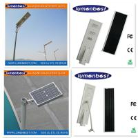 Cheap 3 Years Warranty all-in-one 100W Solar LED Street Light/Lamp/lighting for sale