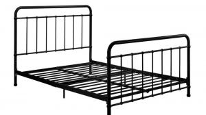 Cheap Adjustable Metal Single Layer Industrial Pipe Bed Frame King for sale