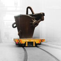China manufacturer heat resistant steel factory ladle transfer car Manufactures
