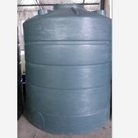 Cheap 5T grey color Plastic Water Storage Tank Made of polyethylene for sale