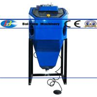 Cheap Mini Suction Type Wet Sandblasting Cabinet 450*450*400mm Work Cabinet for sale