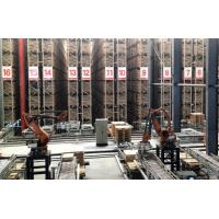 Cheap High Density Automated Warehouse Racking Systems , Flexible Steel Racking System for sale