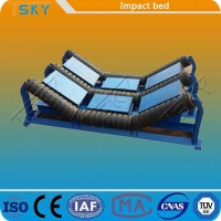 Cheap Compact Quick Disassembly UHMWPE Conveyor Impact Bed for sale