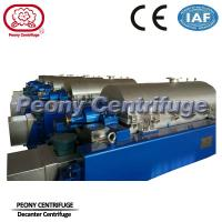 High Speed Scroll Discharge Decanter Industrial Centrifuge Salt Chemical Manufactures
