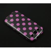 Cheap Wave Dot  Hard Leather Case For Samsung Galaxy Note S2  i9300 for sale