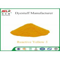 Cheap C I Reactive Yellow 3 Textile Reactive Dyes Colour Dye For Fabric for sale