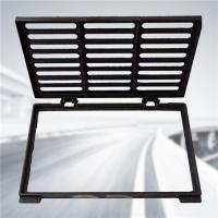 China Light Duty Cast Iron Gully Grate Shock Absorption EN1433 400mm X 600mm on sale