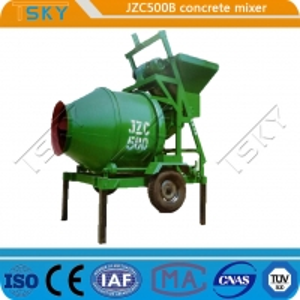 Cheap 4320x2300x3800mm JZC 500B Concrete Mixture Machine for sale