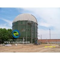 Glass Fused To Steel Fire Water Tank , Design Comply With NFPA-22 Manufactures