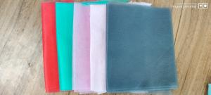 Cheap colorful nonwoven fabric for face mask pink/green/red/BLACK/GREY for sale