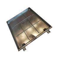 Cheap ODM Access Cover Carbon Steel Q235 , Galvanized Manhole Cover CE Certification for sale