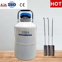 Cheap TIANCHI Ice cream liquid nitrogen tank YDS-6L container Price for sale
