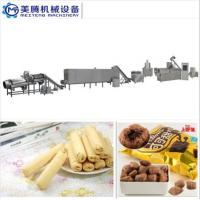 Cheap hot sales Puff Corn Snack Production Line Puffed core filling food machine Food snack extruder machine for sale