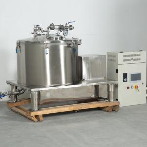 Cheap SZ-800 200L Cannabe Dewaxing Filter Centrifugal Solvent Extractor Ethanol Extraction Centrifuge Oil Separator for sale