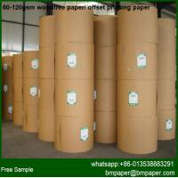 China Virgin Wood Pulp Wood Free Paper for Offset on sale