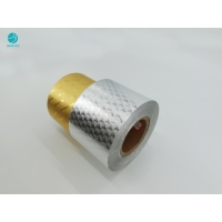 Cheap Hot Stamping Embossing 8011 Aluminum Foil Paper For Cigarette Packaging for sale