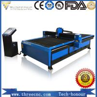 Cheap China OEM manufacturer plasma CNC cutting machine TP2030-105A with Hypertherm plasma power supplier. THREECNC for sale